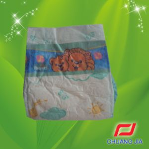 2014 Disposable Babies Diaper in Bales Manufacturer in China