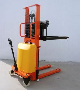 Battery Semi Electric Walkie Stacker