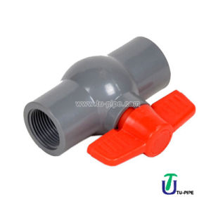 UPVC Screw Ball Valves DIN Pn 10 (Solvent Joint) pictures & photos