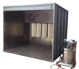 Walk-in Type Powder Coating Booth (colo-S3512) pictures & photos