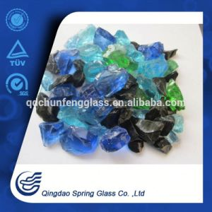 Broken Clear Glass, Credible Supplier of Glass Rock pictures & photos