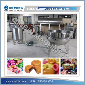 PLC Control/Full Automatic Candy Production Line pictures & photos