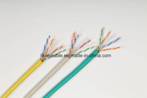 Network LAN SFTP Cat5e Cable with Al Tc Braiding and Double Shield pictures & photos