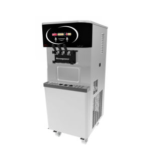 Stainless Steel Three Flavor Soft Ice Cream Machine for Sales (oceanpower OP138CS) pictures & photos
