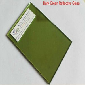4-8mm Dark F Green Reflective Glass for The Buliding /Window pictures & photos