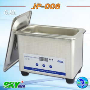 Jp-008 800ml Professional Eyeglasses Ultrasonic Cleaner Full SUS pictures & photos