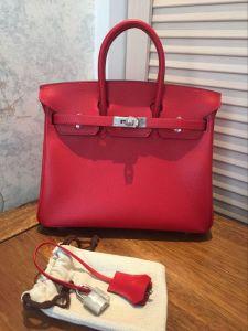 Fashion Q5 Epsom Genuine Leather Handbags Hobo Bags 25cm