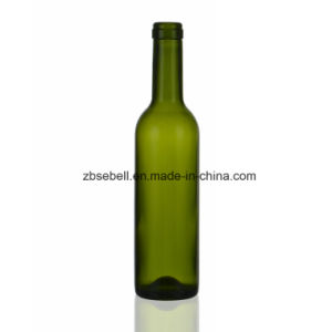 375ml Green Bordeaux Type Glass Wine Bottle pictures & photos