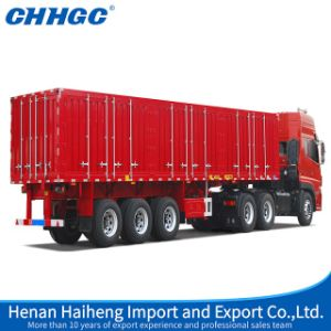 Chhgc 3axles Van Semi Trailer with Long Locks