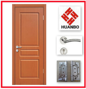 Wholesale High Quality Popular Design PVC MDF Door Hb-043