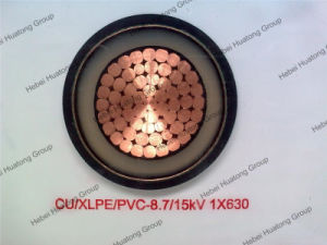 6/10kv, 8.7/15kv, 12/20kv 18/30kv XLPE Insualted Power Cable pictures & photos