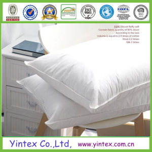 2015 100% Natural Latex Goose Down Pillow Manufacturer pictures & photos