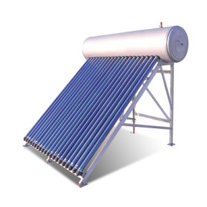 Solar Water Heater Thermosiphon Systems with Evacuated Heat Pipes 150L pictures & photos