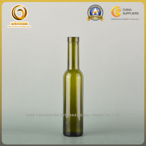 Small Bordueax Wine Bottle/200ml Wine Bottle/200ml Glass Bottle with Cork Top (372) pictures & photos
