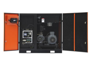45kw/60HP Stationary Air Cooling Screw Air Compressor for Sale pictures & photos