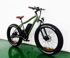 500W--1000W Big Power 26′ Fat Tire Mountain E Bike pictures & photos
