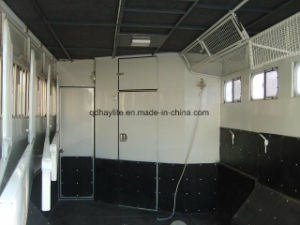 2 Horse Straight Load Float-Standard Horse Trailer Horse Float pictures & photos