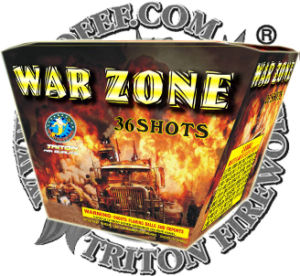 Sky Barrage 36 Shots Fan Cake Fireworks Lowest Price pictures & photos