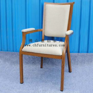 Arm Dining Imitation Wooden Chair (YC-E65-03) pictures & photos