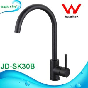 Single Lever Swivel Kitchen Sink Swan Neck Faucet Mixer Tap pictures & photos