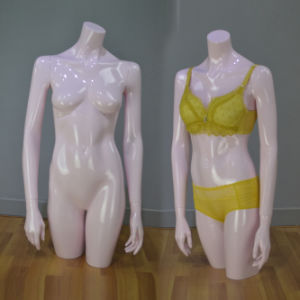 Yazi Fiberglass Female Torso Mannequin for Underwear Dislay pictures & photos