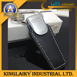 Hot Selling Leather Keyring for Promotion Gift (KKR-003) pictures & photos