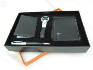 Leather Wallet Gift Set (JJ-F239)