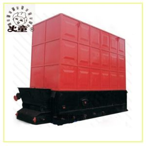 Horizontal Type Coal Biomass Conducting Oil Boiler for High Temperature 350 Deg C pictures & photos
