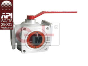 Aluminum Four Way Float Ball Valve (QF02F-50/65/80) pictures & photos