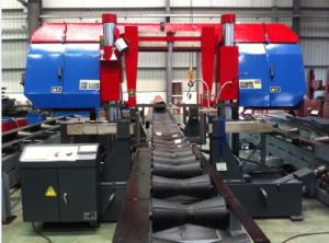 Fast Band Saw Cutting Machine for Piping Fabrication pictures & photos