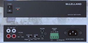 2*100W Bridgeable Power Amplifier (AMP-D100) pictures & photos