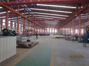 Light Steel Rockwool Sandwich Panel Steel Structure Warehouse pictures & photos
