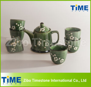 Ceramic Stoneware Handpainted Grace Korea Tea Set Price pictures & photos