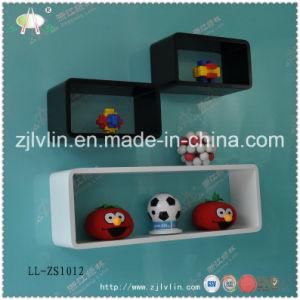 Wooden Wall Cube Shelves