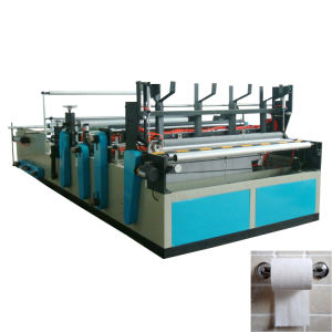 Full Automatic Small Toilet Paper Making Machine pictures & photos