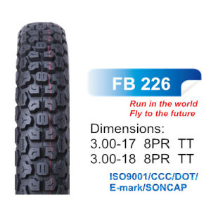 DOT/ISO/CCC off Road Tyre Tire Motorcycle Tyre, Cross Tyre 300-17, 300-18