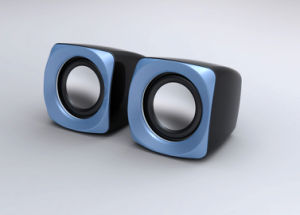 Mini 2.0 Channel Speaker (S181 Black+Blue)