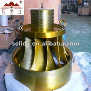 Hydraulic Turbine Capacity 50kw-20mw pictures & photos