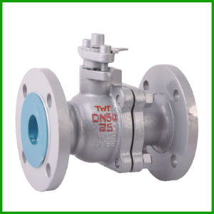 Cast Steel Flanged Ball Valve-Stainless Steel Floating Flange Ball Valve pictures & photos
