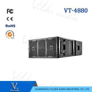 Vt4880 1600W Strong Bass Neo Dual 18′′ Line Array Subwoofer pictures & photos