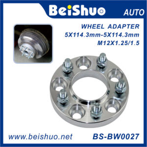 Custom Aluminum CNC Milled Machining Stainless Steel Steering Wheel Adapter pictures & photos