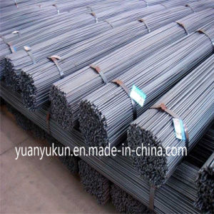 Manufacturer Price Hot-Rolled Reinforced Rebar 4.  ASTM Standards Grade 40 22/25/28/32mm pictures & photos