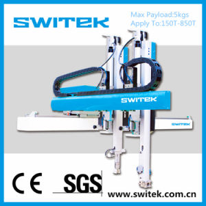 Robot Arm Sw51 Plastic Injection Machine for Cosmetic