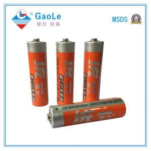1.5V AA Carbon Zinc Battery (R6P) with MSDS SGS Certificate pictures & photos