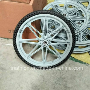 20X1.75 20X1 3/8 TPE Flat Free Tire with PA Wheel for Bicycle pictures & photos
