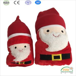 2018 Microplush Christmas Blanket for Christmas Promotion pictures & photos