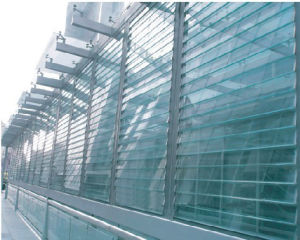 New Aluminum Sun Louver Exterior Wall Curtain Wall/Extruded Elliptic Sun Louver pictures & photos