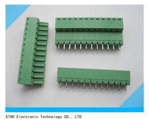 Custom 12pin PCB Mount Pluggable Screw Type Terminal Block pictures & photos