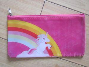 Printed PVC Zipper Pen Bag with MOQ 3000 (hbpv-69) pictures & photos