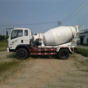 Sinotruk Light Duty Cement Mixer 3m3 Concrete Transport Truck pictures & photos